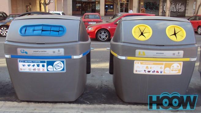 Contenedores para reciclar